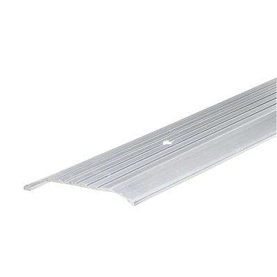 36 in. x 84 in. White Flat Profile Door Jamb Weather Strip Kit