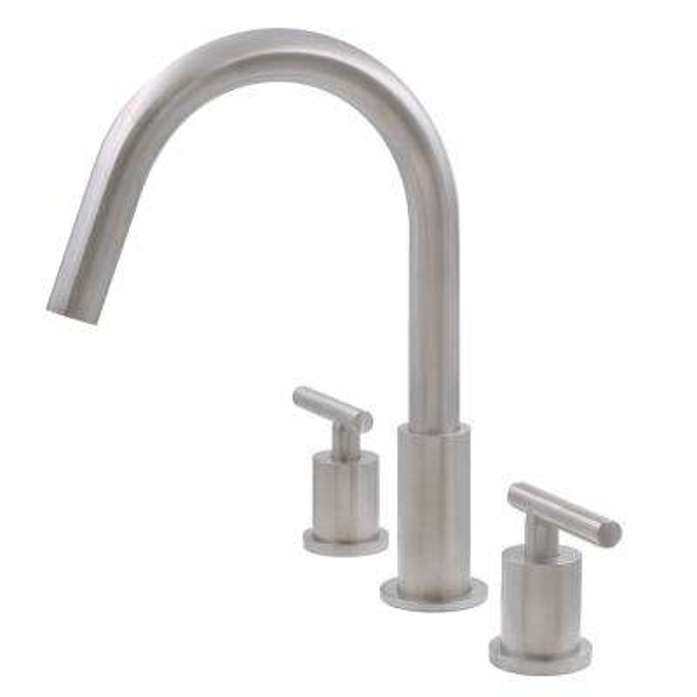 WALTZ 8 in. Widespread 2-Handle Lavatory Bathroom Faucet in Brushed Nickel