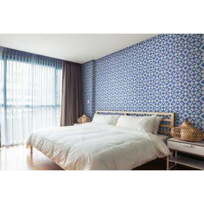 Art in Chaos Collection Crux in Royal Premium Matte Wallpaper