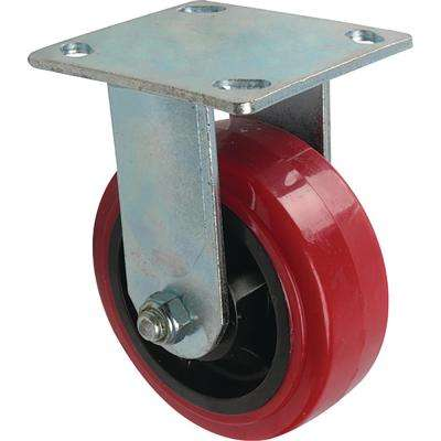5 in. Polyurethane Rigid Caster with 750 lb. Load Rating