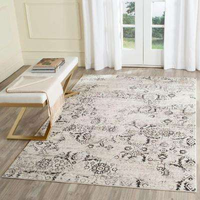 Artifact Charcoal/Cream 7 ft. x 9 ft. Area Rug