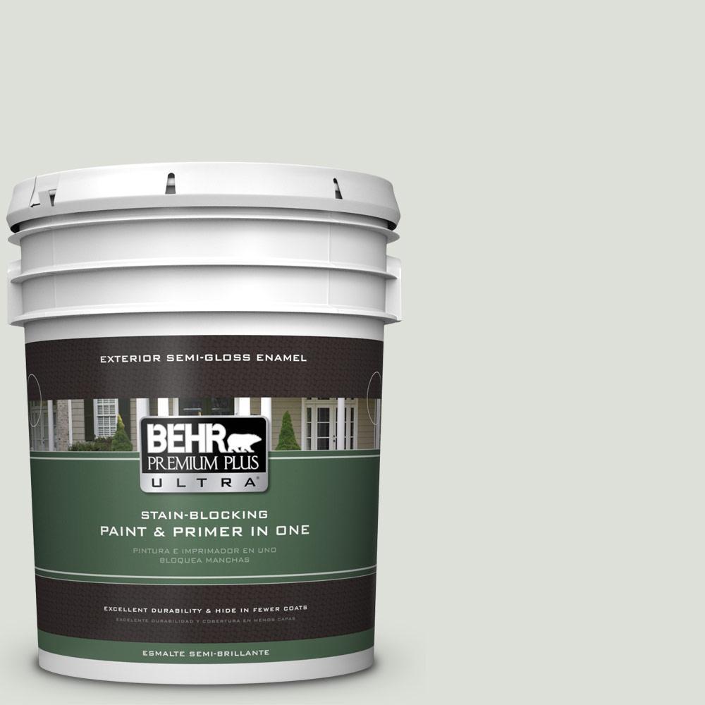 5 gal. #PPU25-11 Salt Cellar Semi-Gloss Enamel Exterior Paint