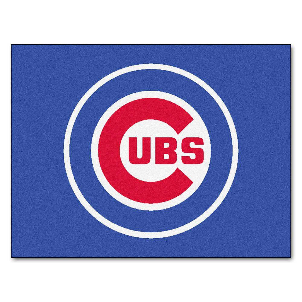 Fanmats Chicago Cubs 2 Ft 10 In X 3 Ft 9 In All Star