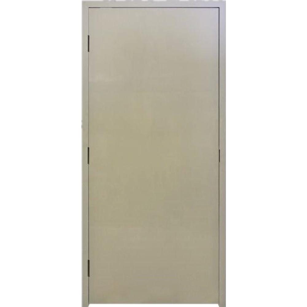 Krosswood Doors Dk Flush Steel Left Hand Door Frame Hardware Gr