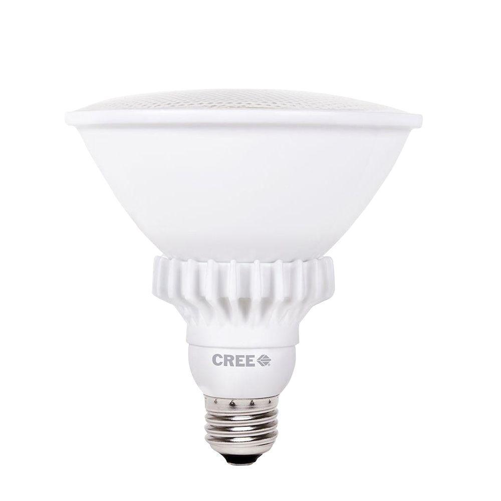 Cree 90W Equivalent Bright White (3000K) PAR38 47 Degrees Flood Dimmable LED Light Bulb (3-Pack)