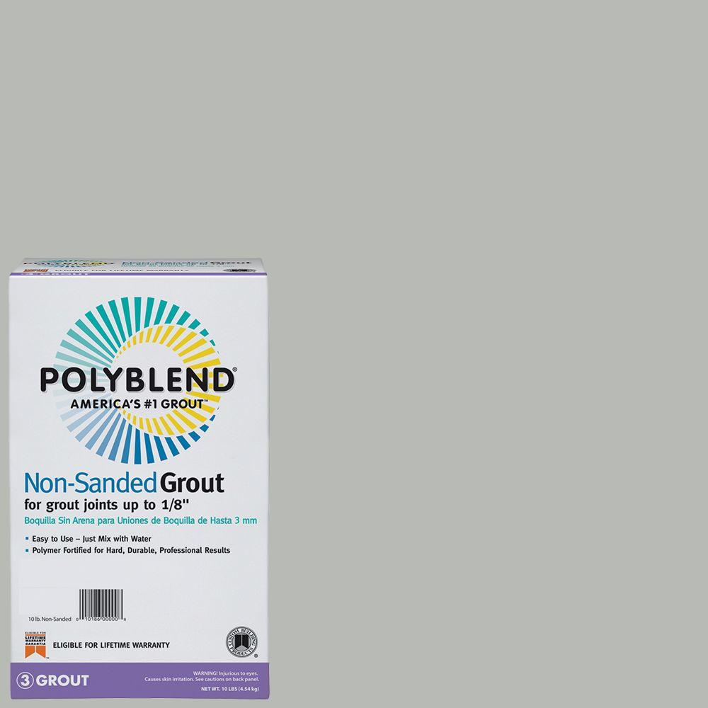 Custom Building Products Polyblend Cape Gray Lb NonSanded - Best non sanded grout