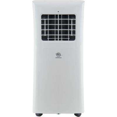 10,000 BTU / 5,000 BTU (DOE) Portable Air Conditioner in White