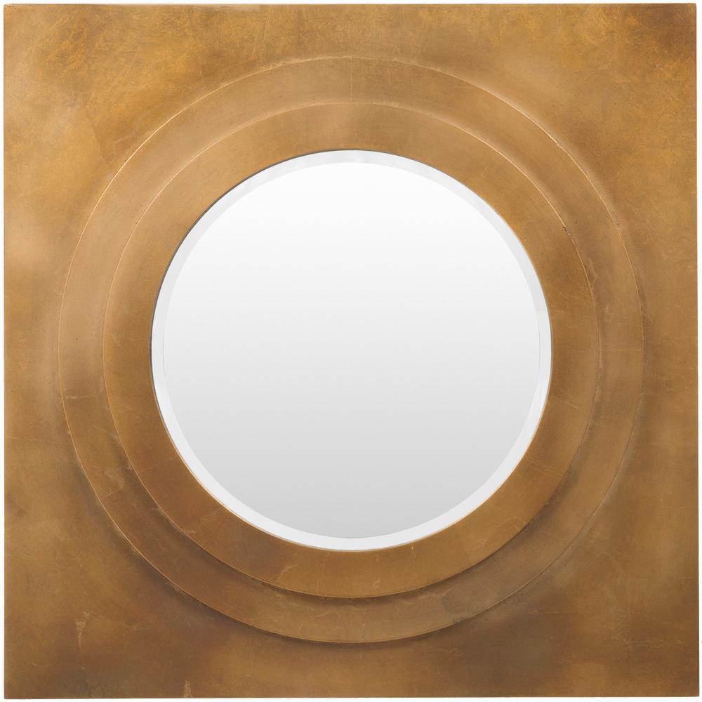 Goldwell 30 in. x 30 in. MDF Framed Mirror