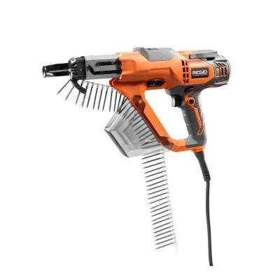 Reconditioned 6.5 Amp 1/4 in. Corded Collated Screwdriver