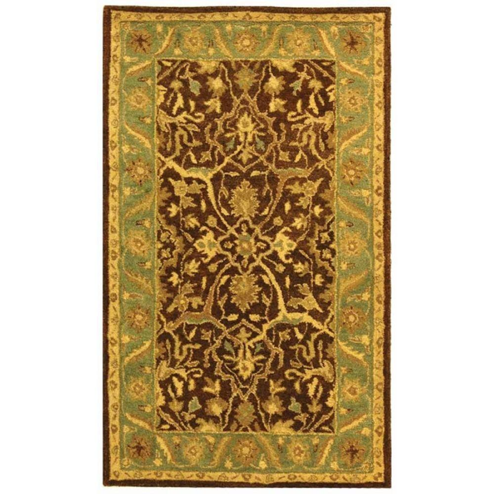 Safavieh Antiquity Brown/Green 4 Ft. X 6 Ft. Area Rug