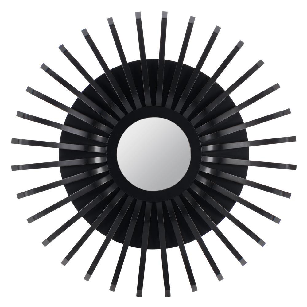 Katey Black Decorative Mirror