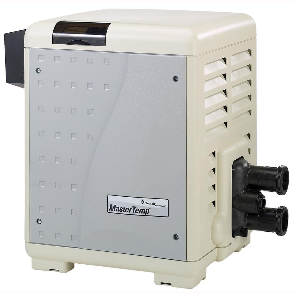 Mastertemp 400,000 BTU In-Ground Natural Gas Heater