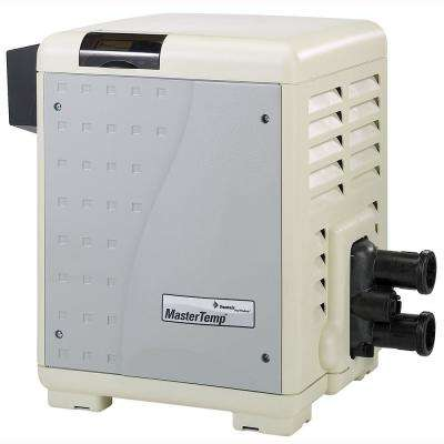 Mastertemp 125,000 BTU In-Ground Natural Gas Heater
