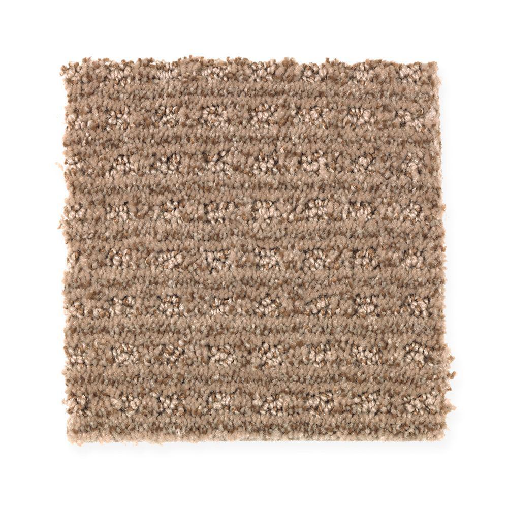Carpet Sample - New Start II - Color Embraceable Pattern 8 in. x 8 in.