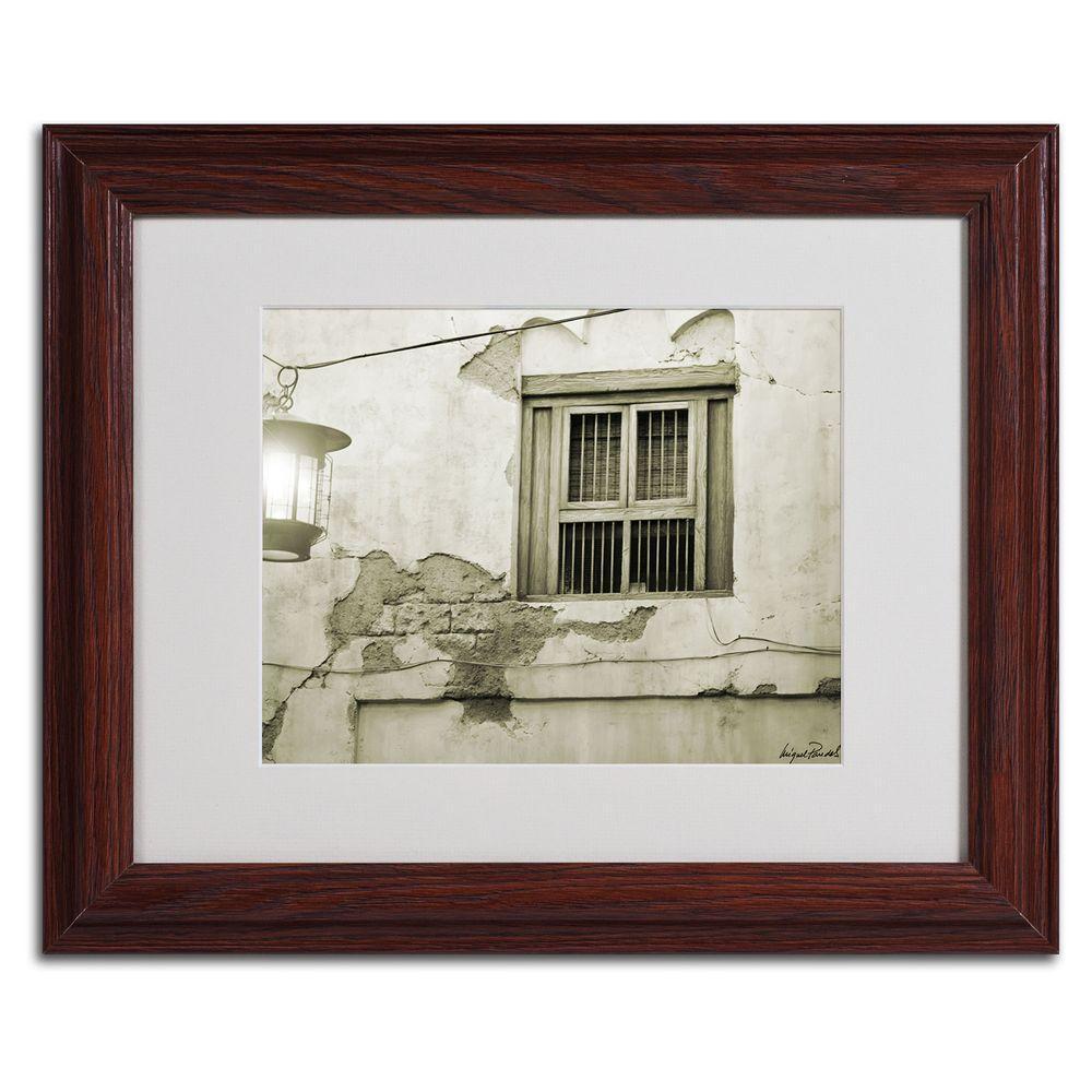 11 in. x 14 in. Window Matted Framed Art