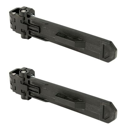 ToughSystem 10-5/8 in. Brackets for DS Tool Box Carrier (2-Pack)
