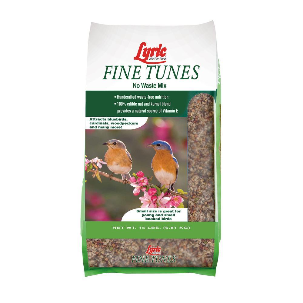 15 lbs. Fine Tunes No Waste Bird Seed Mix