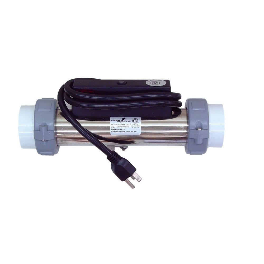 1500-Watt Universal Flow-Through Whirlpool Bath Heater