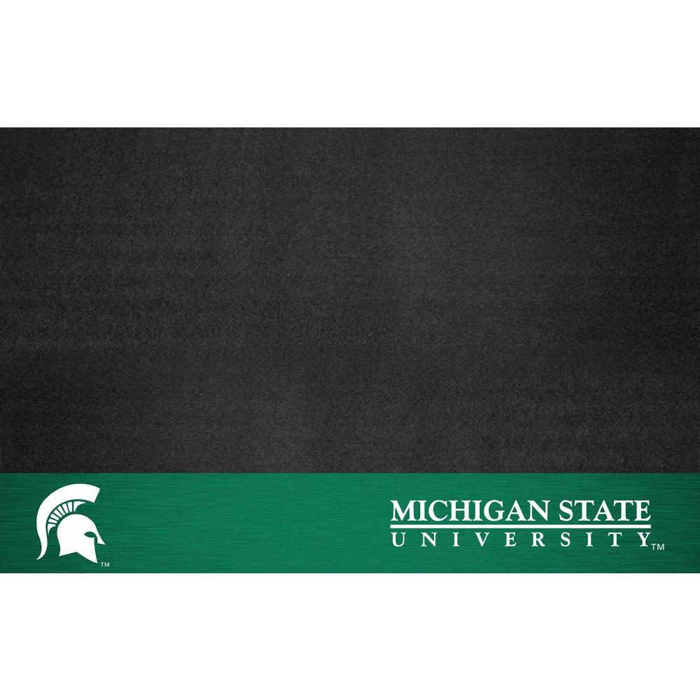 Michigan State University 26 in. x 42 in. Grill Mat