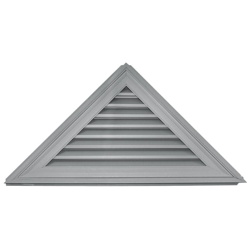 12/12 Triangle Gable Vent #030 Paintable
