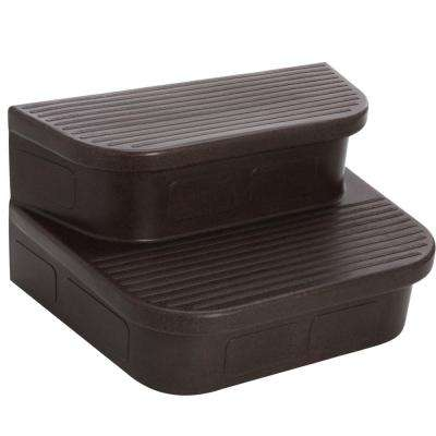 Espresso Step for Rectangle and Square Hot Tubs