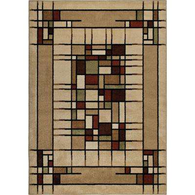 Dreco Multi 4 ft. x 5 ft. Indoor/Outdoor Area Rug
