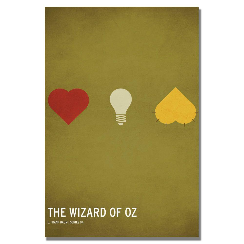 16 in. x 24 in. Wizard of Oz Canvas Art-CJ0014-C1624GG - The Home Depot