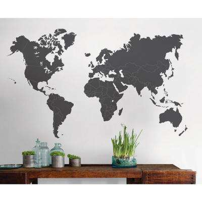 48 in. x 36 in. The World Is Yours Giant Wall Decal
