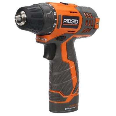 12-Volt Lithium-Ion 3/8 in. Cordless Drill Kit