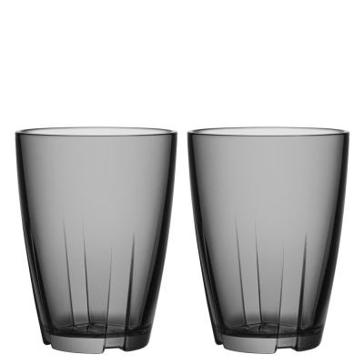 Bruk 11.6 oz. Large Smoke Grey Tumbler (Set of 2)