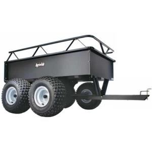 Agri-Fab 12 cu. ft. UTV/ATV Tandem Axle Cart by Agri-Fab