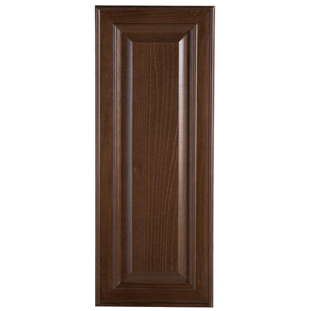 Hampton Bay 12x30x0.75 in. Decorative Wall End Panel in Butterscotch-BT1230O-BT - The Home Depot