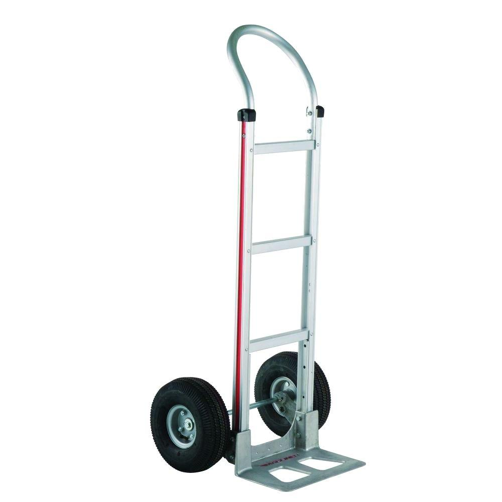 500 lb. Capacity Aluminum Modular Hand Truck with Horizontal Loop Handle