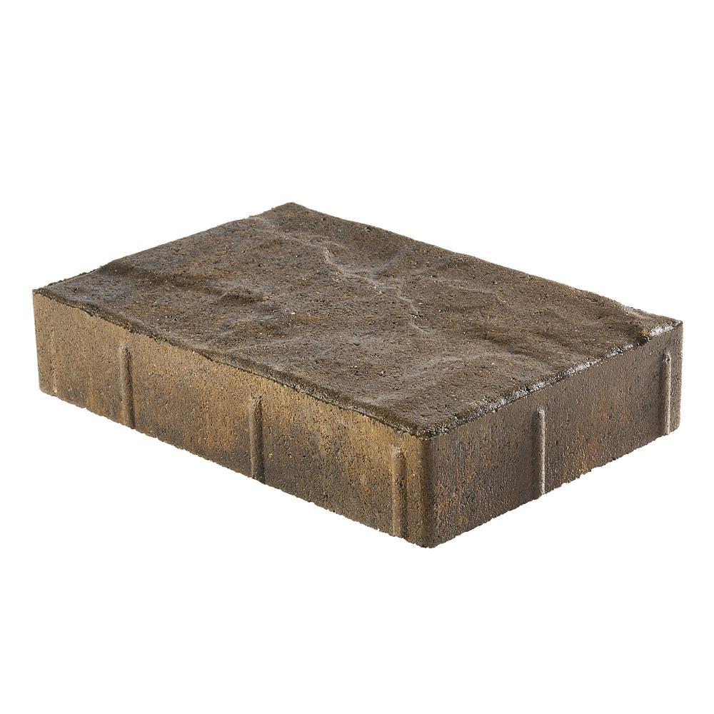 Taverna Rec 11.81 in. L x 7.87 in. W x 1.9 in. H Yukon Concrete Paver (192-Piece/124 sq. ft./pallet)