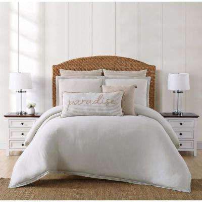 Chambray Coast Grey King Duvet Set