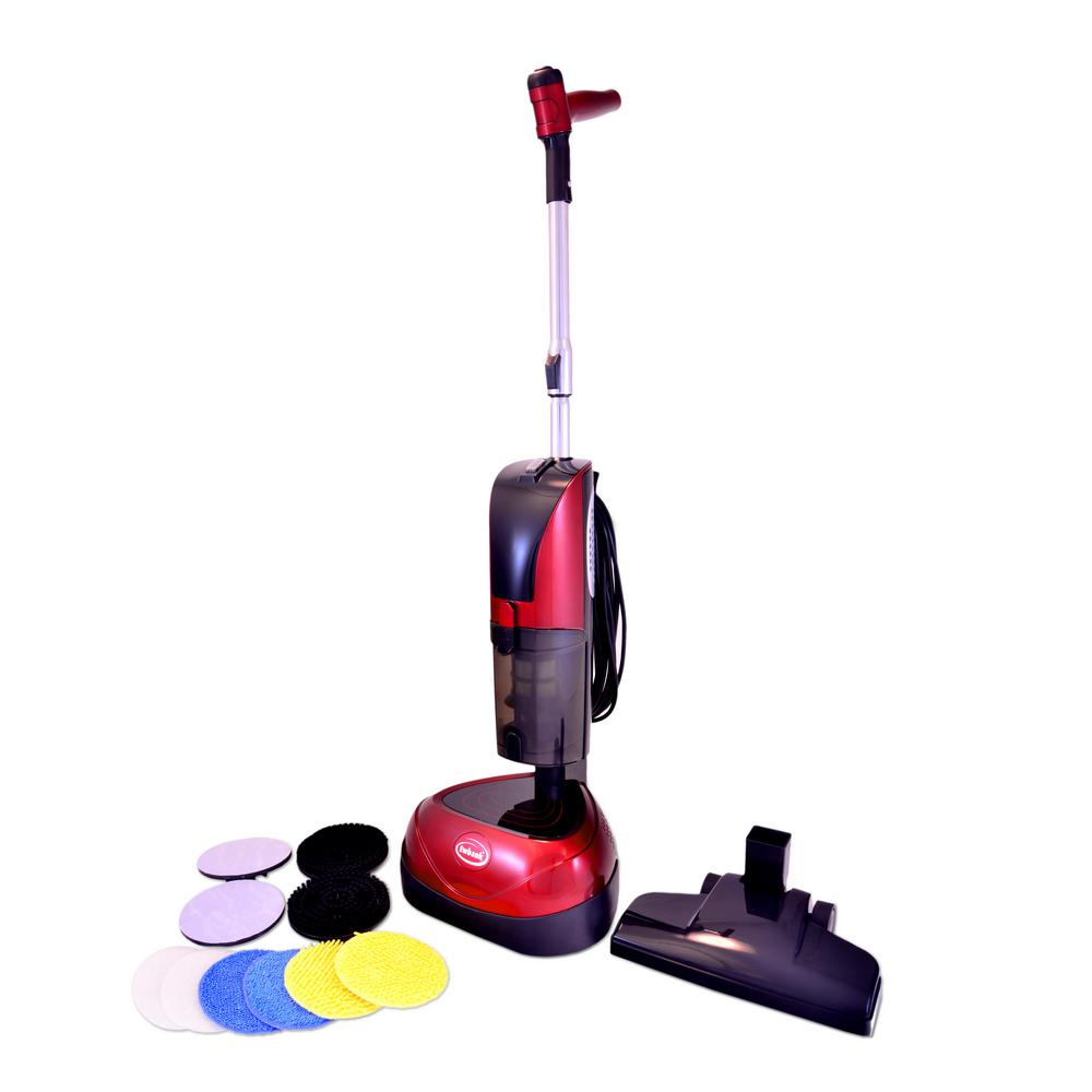 4-in-1 Floor Cleaner, Scrubber, Polisher and Vacuum with 23 ft. Power