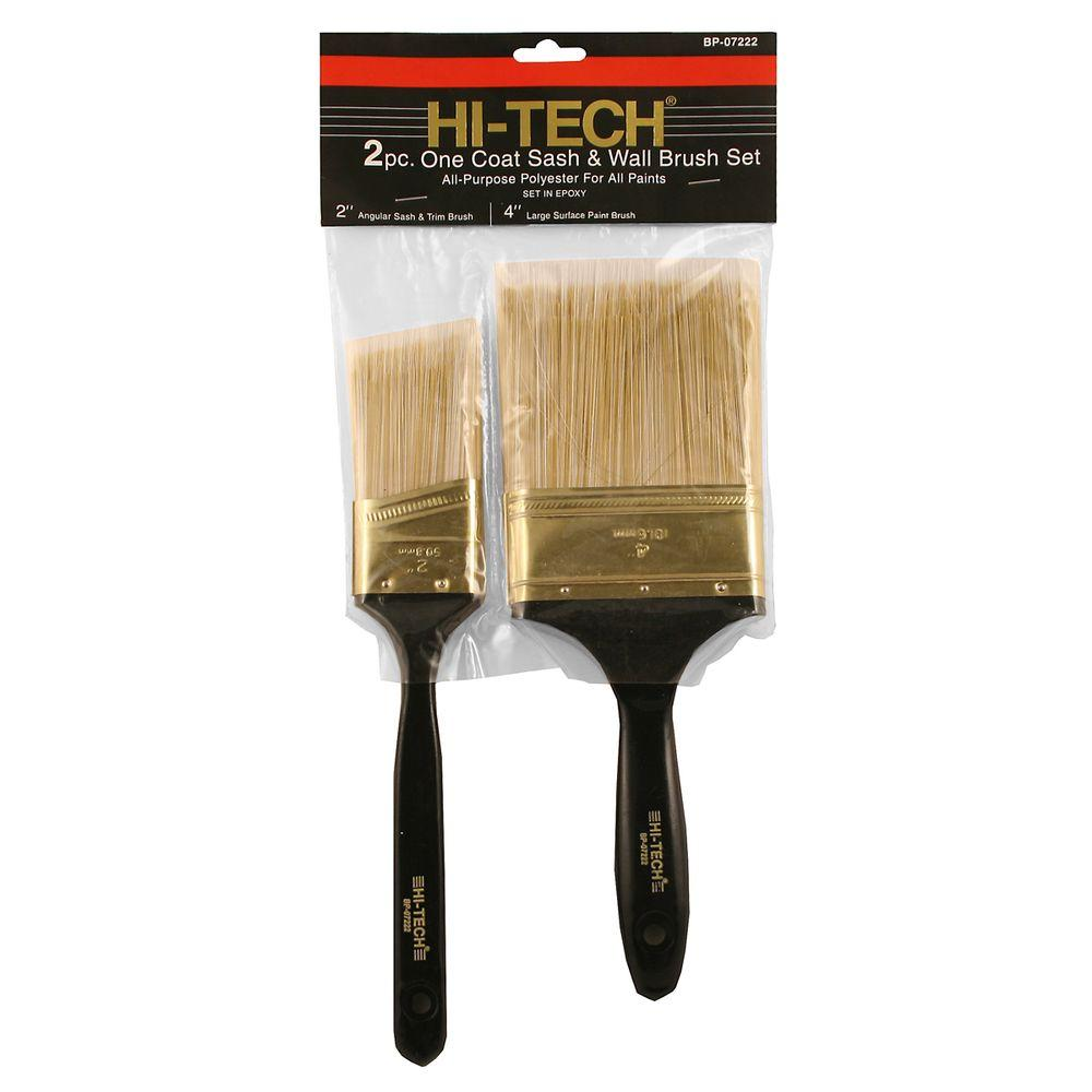 2-Piece Poly Paint Brush Set