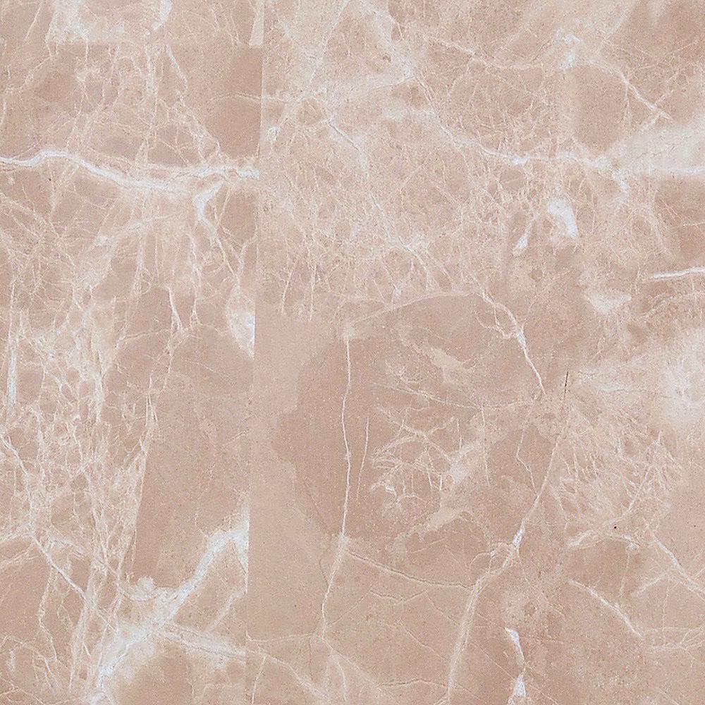 Venetian Beige Marble Peel and Stick 3D-Effect Self Adhesive DIY Wallpaper Sample