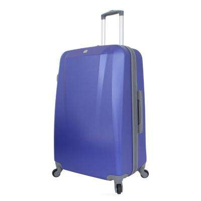 28 in. Upright Hardside Spinner Suitcase in Blue