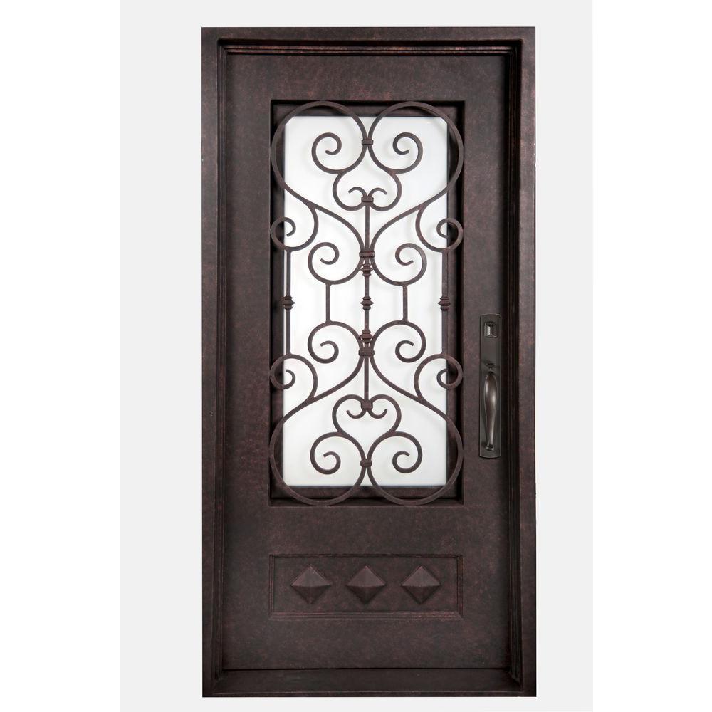 Iron Doors Unlimited 46 In X 97 5 In Vita Francese