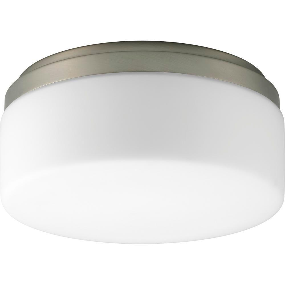Maier Collection 1-Light Brushed Nickel Flushmount