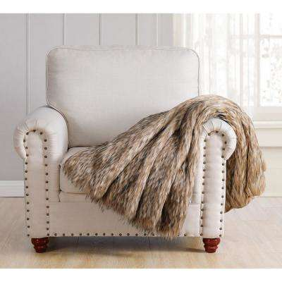 Amber Brown Gift Boxed Throw