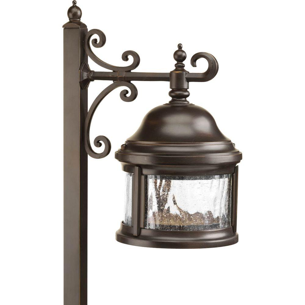 Progress Lighting Low-Voltage 18-Watt Antique Bronze Land...