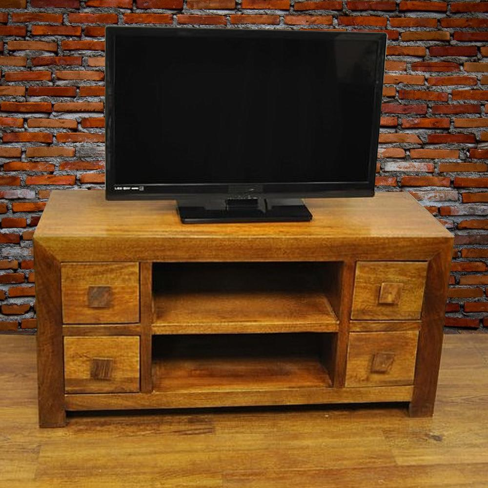 Wood Tv Stands Product ~ Y decor revere brown mango wood tv stand aa the home