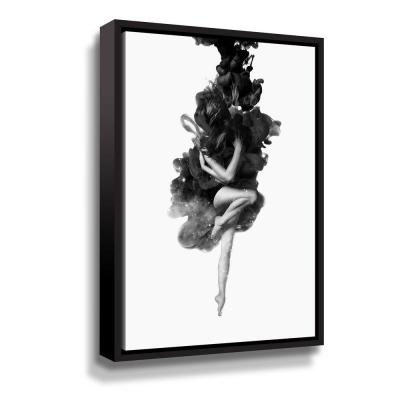 'The born of the universe' by  Robert Farkas Framed Canvas Wall Art