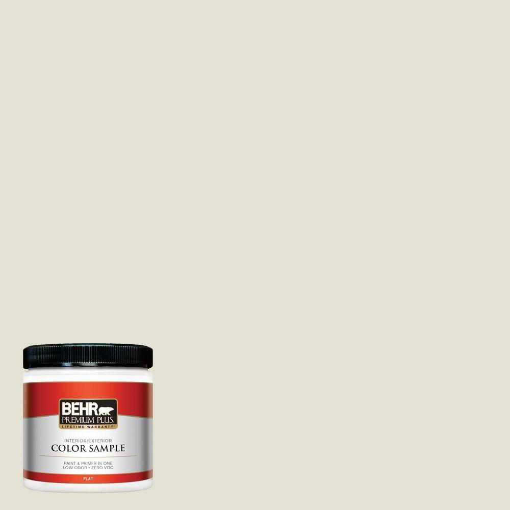 BEHR Premium Plus 8 oz. #PPF-15 Crushed Limestone Interior/Exterior Paint Sample