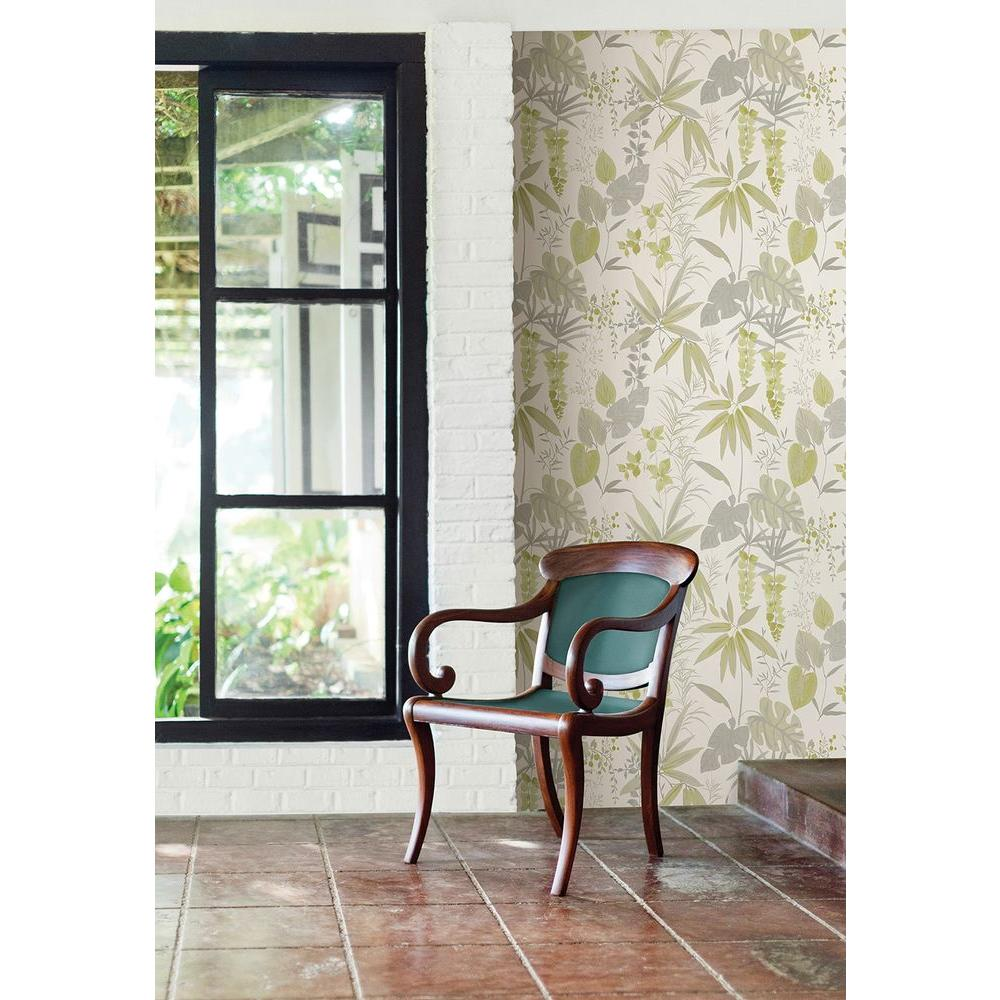 York Wallcoverings Watercolors Lovebirds Wallpaper Wt4556