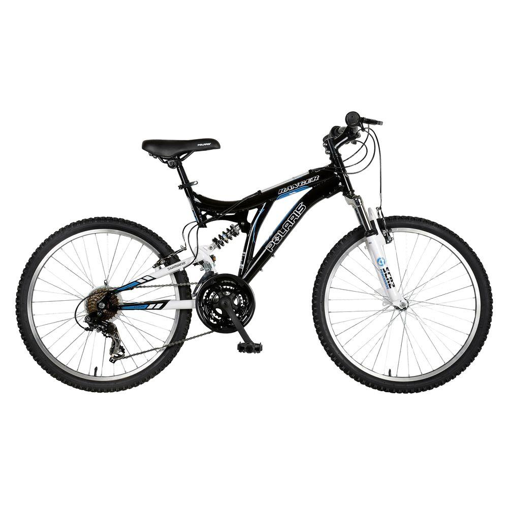 Polaris Ranger Full Suspension Mountain Bike, 24 in. Wheels, 17 in ...