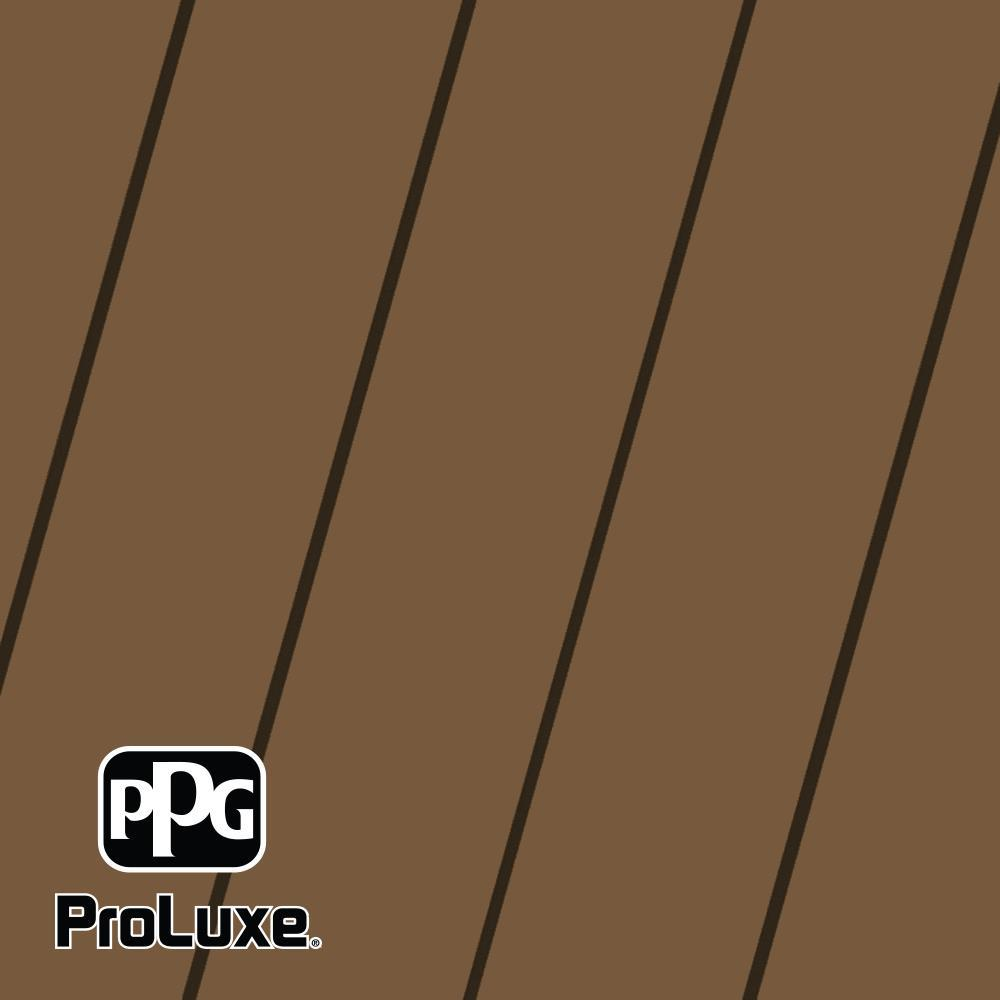 PPG ProLuxe 1 gal. Premium #HDGSIK710-213 Butternut Solid Stain Wood Finish