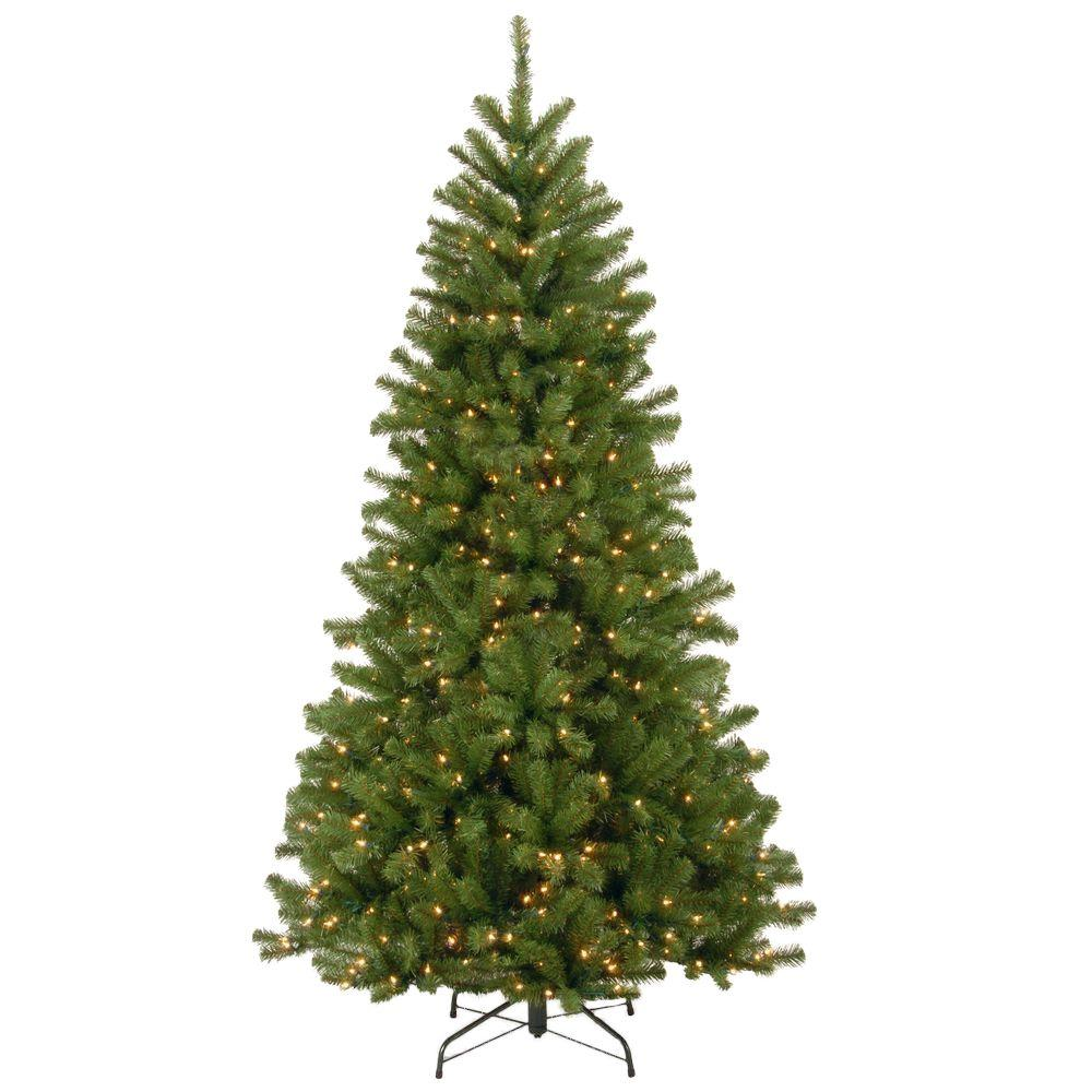 Pre Lit Christmas Tree Fuses: Artificial Christmas Tree With 450 Lights 6.5 Ft Realistic